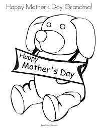 mother coloring pages printable happy mother u0027s day grandma coloring page twisty noodle