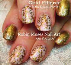 easy promnew years nail art youtube robin moses nail art black