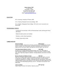 resumes for nurse educators nursing resume template best