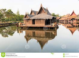 old thai house royalty free stock photography image 32504187