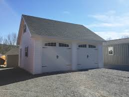 2 car garages built on site custom amish garages in oneonta ny amish barn company