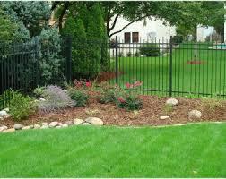 Cheap Landscaping Ideas For Backyard Backyards Cozy Simple Homey Chicago Backyard Landscaping Ideas