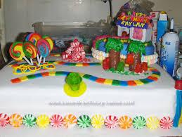 candyland birthday cake candyland birthday ideas index