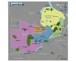 Zambia Africa Map by Maps Of Zambia Detailed Map Of Zambia In English Tourist Map