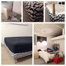 How To Make A Platform Bed Frame With Legs by Best 25 Upholstered Box Springs Ideas On Pinterest Bed Frame