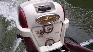 1969 alumacraft fd and 1957 johnson 35 hp youtube