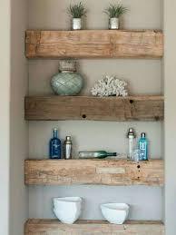 Wood Bathroom Etagere étagère Bois Poutre Le Bois Dans La Déco Pinterest House