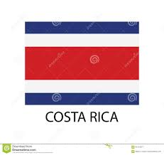 Costarican Flag Costa Rica Flag Stock Images 357 Photos
