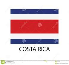 Flag Costa Rica Costa Rica Flag Stock Images 357 Photos
