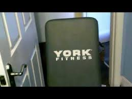 York 6605 Bench York Fitness Bench Unboxing And Quick Review Youtube