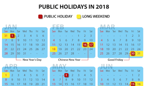 Kalender 2018 Hari Raya Puasa How To Maximise Your Leave For 2018 In A Year With Only 4