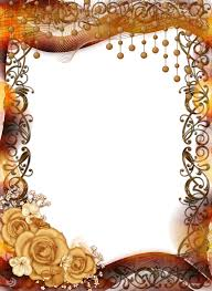 Photo Frame Frame With Roses And Ornaments By Lyotta On Deviantart