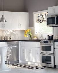 light grey gray kitchen walls with white cabinets home decorators cabinetry grey kitchen walls
