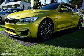 green bmw m4 bimmerpost pebble beach recap bmw m4 concept highlights