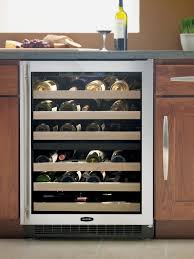 built in wine coolers dual zone 6 glide out wine racks 51 bottle