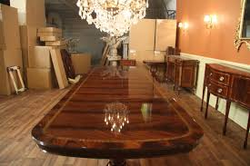 custom dining room table extra large and wide mahogany dining room table