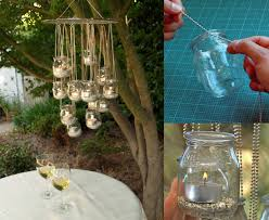 Create A Chandelier Easy Things To Do With Mason Jars