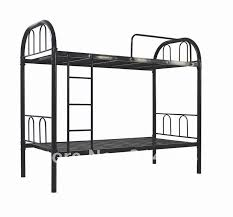 Iron Bunk Bed Metal Bunk Bed Made Of Steel And Powder Coating 28kgs Net