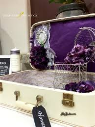 guest book table decor vintage suitcase wedding card box
