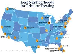 San Diego Map Neighborhoods by Homeunion Names Orlando Among Best Neighborhoods For Trick Or