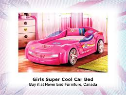 Car Beds For Girls by Girls Super Cool Car Bed Buy It At Neverland Furniture In Canada