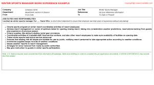 Resume Referee Sample by Sports Referee Cv Work Experience Samples