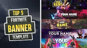template youtube photoshop cc top 5 fortnite banner template 2018 free download photoshop cc