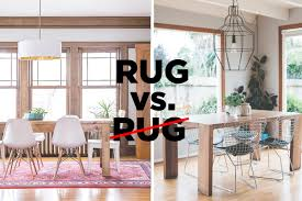 let u0027s settle this do rugs belong in the dining room apartment