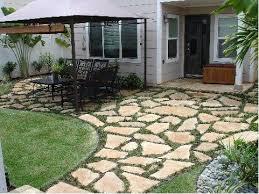 Backyard Pavers Cost by Best 25 Flagstone Paving Ideas On Pinterest Pebble Walkway