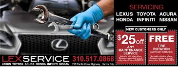 lexus service coupons direct mail marketing campaign agency in los angeles