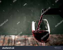 red wine glass wine pouring red stock photo 363599132 shutterstock
