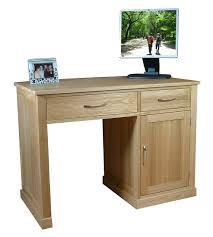 Pedestal Computer Desk Mobel Oak Single Pedestal Computer Desk Study Furniture