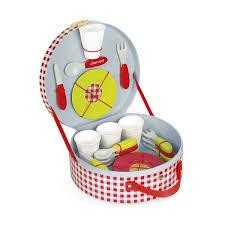 accessoire cuisine jouet mallette pique nique jouet en bois cuisine janod lapouleapois fr