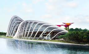 singapore u0027s largest garden project to sprout solar supertrees