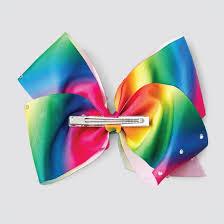 bow hair jojo siwa bow hair clip rainbow target