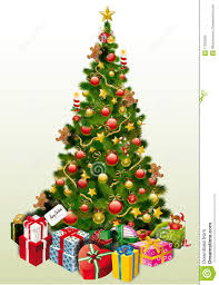 christmas and halloween background christmas tree with presents u2013 happy holidays