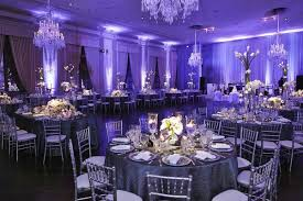 purple and silver wedding stunning chicago wedding with purple lighting ivory florals