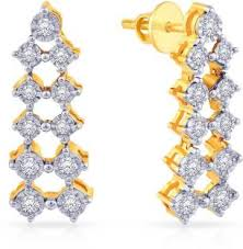 malabar earrings malabar gold and diamonds earrings buy malabar gold and diamonds