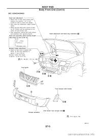 nissan versa front bumper nissan patrol 1998 y61 5 g body workshop manual