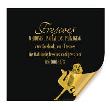 Bollywood Invitation Cards Foil Stamping For Wedding Invitation Cards Frescoes