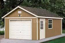 Garage Blueprints Garage Building Plans U0026 Blueprints Ebay