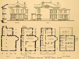 floor plans mansions vintage house plans classic home for antique 34