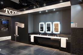 our commercial bathroom featured our clean dry sensor activated