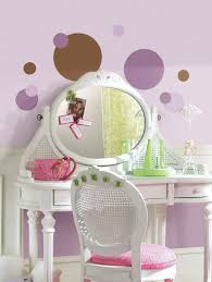 purple and brown polka dot wall stickers decals room decor