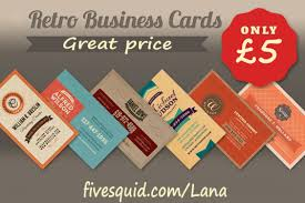 Business Card Design Pricing Design A Vintage Business Card For 5 Lana Fivesquid