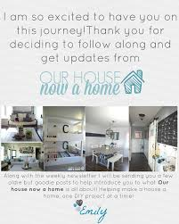 making a house a home thank you for signing up u2022 our house now a home