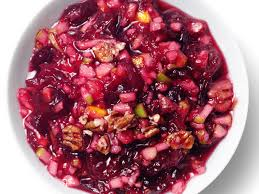 the bitten word thanksgiving 2009 nutty cranberry relish