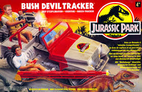jeep artwork box artwork bush devil tracker jurassic toys