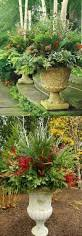 Beautiful Decoration Element 24 Colorful Outdoor Planters For Winter And Christmas Decorations