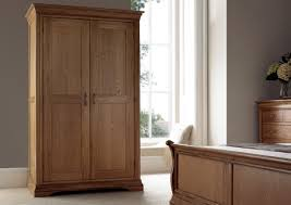 Wardrobe Furniture French Style Versaille Rustic Oak Full Length Wardrobe Wardrobes